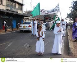 Muslim Flag Muslim Kids Holding Flag Editorial Image Image Of Nabbi 45783860