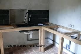 faire plan de travail cuisine faire un tour with pose plan de travail cuisine maison design bahbe
