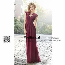 spring 2017 burgundy bridesmaid dresses long with lace short
