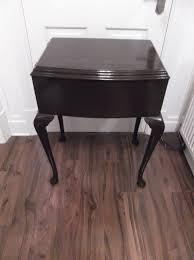 solid wood sewing machine cabinets vintage solid wood sewing machine storage table in jarrow tyne
