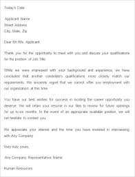 29 rejection letters template hr templates free premium