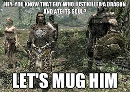 Video Game Logic Meme - common rpg game logic and the game design behind them