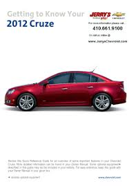 2012 chevy cruze in baltimore maryland