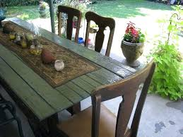 barn door side table table made from door farm table i made out of an old barn door cool