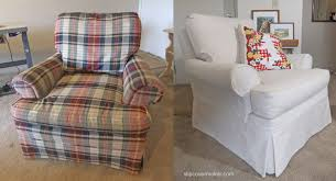 Slipcovered Arm Chair Natural Canvas Slipcovers The Slipcover Maker