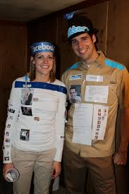 The Social Media Couple Costume