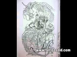 100 dragon by horiyoshi iii tattoo designs book youtube