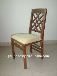 Folding Dining Chairs Wood Catchy Folding Wooden Dining Chair Novoch Me