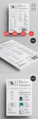 awesome resume templates 50 best resume templates for 2018 design graphic design junction