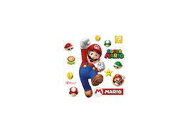 super mario wall decal shop fathead for mario decor super mario fathead wall decal