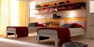 two bed bedroom ideas comfy kids bedroom design with two beds and lighting interior