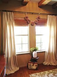 how to sew a super fancy drop cloth valance the purple hydrangea