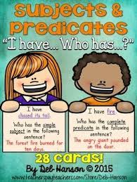best 25 subject predicate activities ideas on pinterest subject