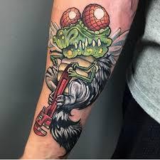hungry wolf tattoo