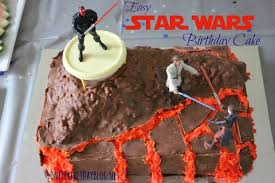 easy star wars birthday cake