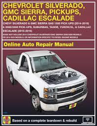 2003 cadillac escalade repair manual 2016 chevrolet tahoe haynes repair manual select access ebay