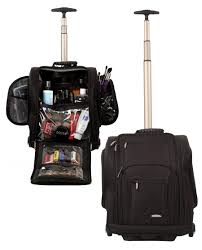 professional makeup artist organizer the wheeled makeup kit is great for carrying all of your makeup in