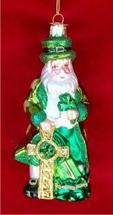 musical santa collectible figure celtic