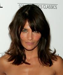 show meshoulder lenght hair bangs with shoulder length hair i also wanted to show you a