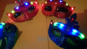 halloween mystery party led maske halloween mask karneval party mask mystery venice 6 led