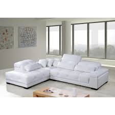 Modern White Leather Sectional Sofa by Contemporary U0026 Luxury Furniture Living Room Bedroom La Furniture