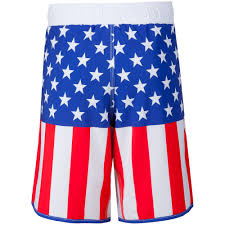 American Flag Plus Size Shorts Wrestlingmart Signature Fight Short Limited Apparel