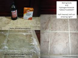 Cleaning Grout With Vinegar Clean Grout With Baking Soda And Baking Soda Clean Bathtub