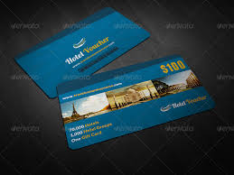 hotel gift cards hotel gift voucher card vol 7 by owpictures graphicriver