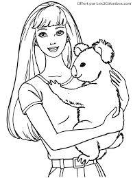 dessin barbie 63 coloriage en ligne gratuit pour enfant az