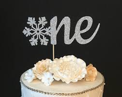 snowflake cake topper pink gold snowflake cake topper winter party