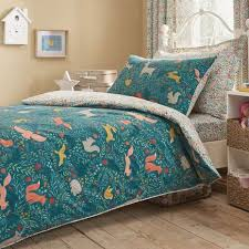 Dunelm Mill Duvets Woodland Ditsy Duvet Cover And Pillowcase Set Dunelm