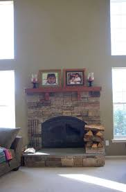 white stone fireplace hearth home design ideas