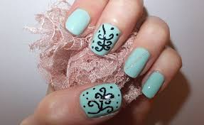nail art novice try something tuesday tribal nail art with barry m