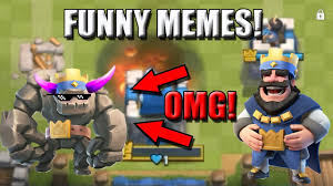 Top 10 Video Game Memes - clash royale funny moments top 10 clash royale memes youtube