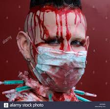 fake blood halloween makeup fake blood stock photos u0026 fake blood stock images alamy