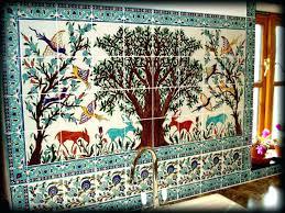 ceramic tile murals for kitchen backsplash painted ceramic tile simple ceramic tile painting ideas adding