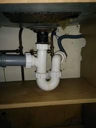 Position Of UBend Under Kitchen Sink MyBuilder - Kitchen sink u bend
