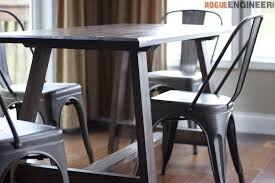 Diy Dining Room Tables Double Angle Dining Table Rogue Engineer