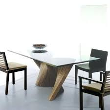 trendy dining room tables dining room glass contemporary dining table design with cream modern