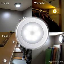 battery operated motion activated light 2018 battery powered motion sensor 6 led night light stick anywhere