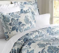 Pottery Barn White Duvet 9 Best Bedding Images On Pinterest Blue Bedding Guest Bedrooms