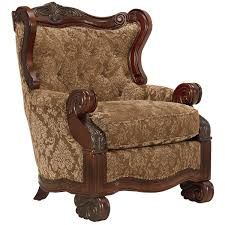 Patterned Accent Chair City Furniture Regal Dark Tone Fabric Accent Chair