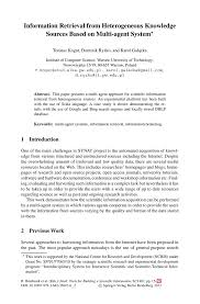 how to write references in research paper information retrieval from heterogeneous knowledge sources based intelligent tools for building a scientific information platform