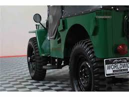 vintage willys jeep 1948 willys jeep for sale classiccars com cc 1005904
