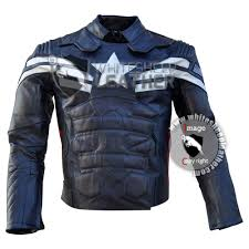 mens leather riding jacket evans captain america motorcycle real leather jacket