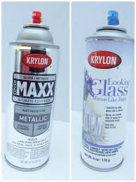 Krylon Mirror Glass Spray Paint - my favorite silver spray paints by krylon