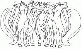 horseland 2 ausmalbilder coloring
