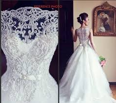 unique wedding dress 2014 hot sale white gown popular vera beading unique wedding