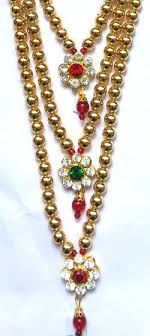 long necklace costume jewelry images Krishna costume jewelry 3 step necklace kalanjali collections jpg