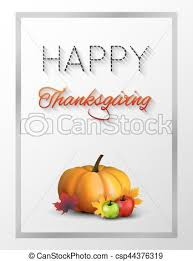 happy thanksgiving day concept logotype happy thanksgiving